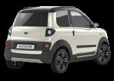 Microcar MGO6 X DCI - Blanc nacre rear