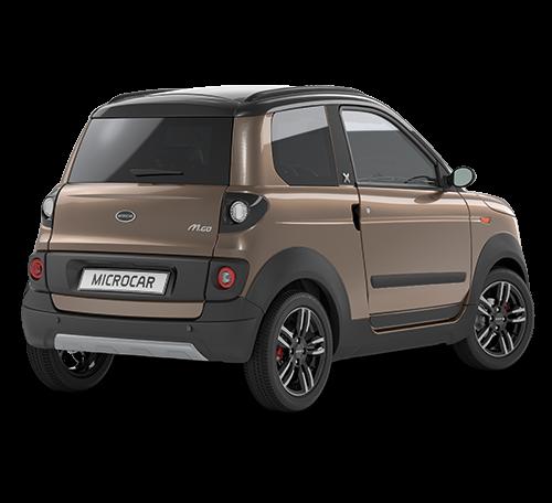 Microcar MGO6 X DCI - Bronze rear