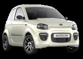 Microcar MGO6 Plus Blanc Nacre