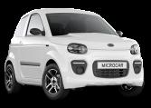 Microcar MGO6 Plus Blanc Glacier
